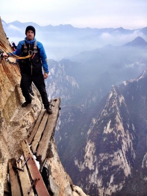 World's most dangerous hiking trail – Mount Huashan in China