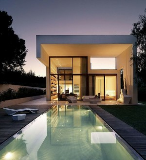 Rocafort House by Ramon Esteve Studio