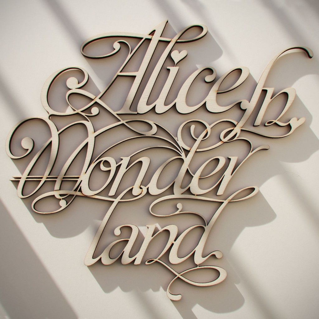 Wood Lettering