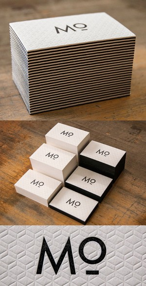 Unique Letterpress Business Card | Business Cards