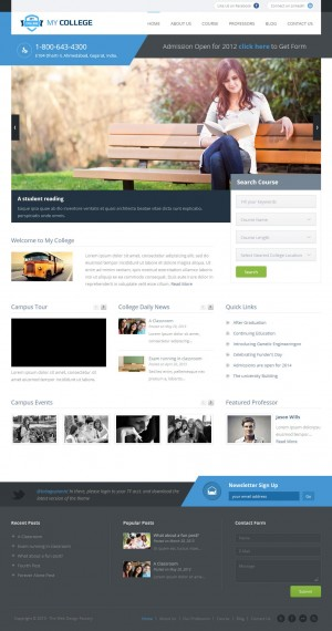 In this article we have collected creative educational templates made in WordPress. This educati ...