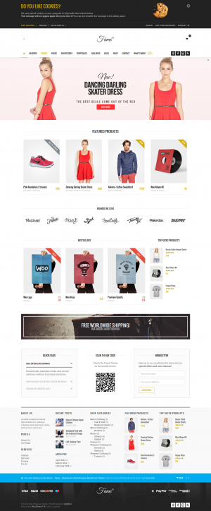 Fame is responsive multipurpose WordPress Theme. It has visual page builder it will save your to ...