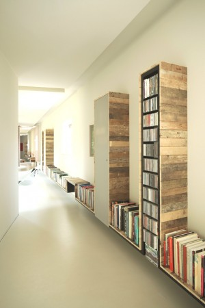 Former factory Converted into a luxury home, Book Library
