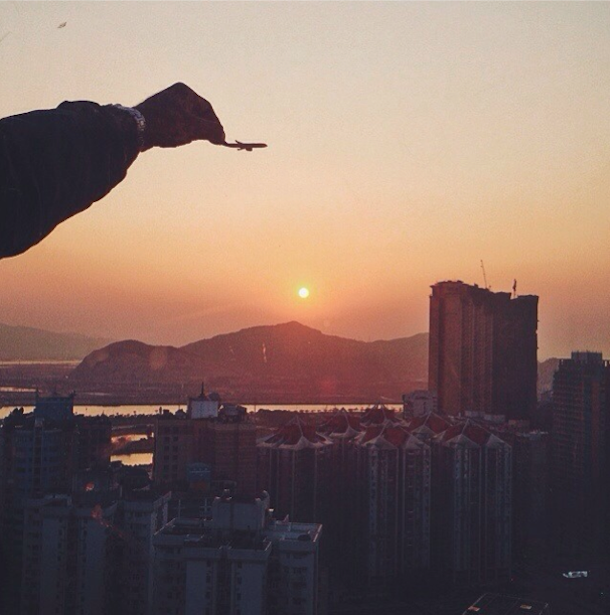 Imaginative Photos of a Toy Plane Soaring in the Sky