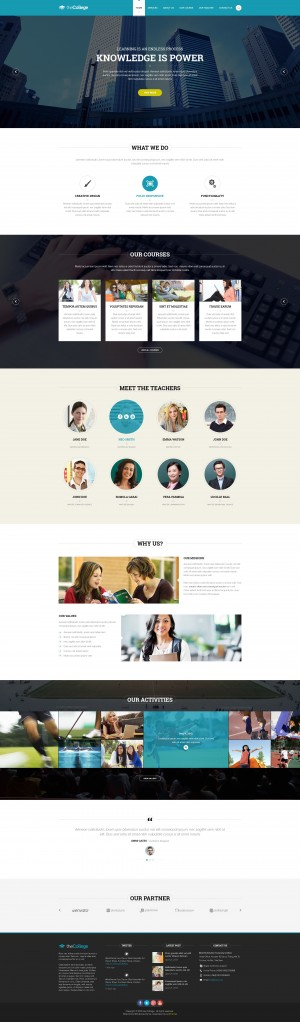 Juno College Responsive Drupal Theme is really creative, feeling very gentle and delicate are wh ...