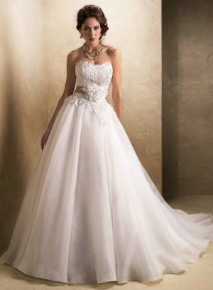 wedding Photo – style 346.00 bridal gown – Style Maggie Sottero Cora A-Line Lace And ...