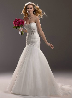wedding Photo – style 336.00 bridal gown – Style Maggie Sottero Valerie 3MS765 Strap ...