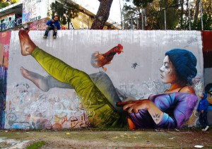 Street Art By Pichi and Avo – In Spain and Greece