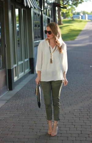 Stylish Ashley: PLEATED BLOUSE