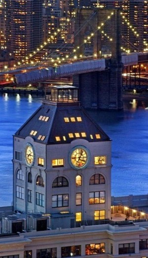 The Clock Tower – Brooklyn, New York – NIGHT LIGHTS