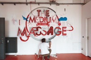 The Medium is the Massage by Niels Buschke