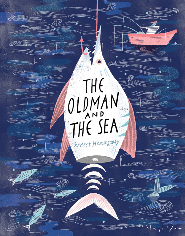 The Old Man and the Sea, by Yeji Yun