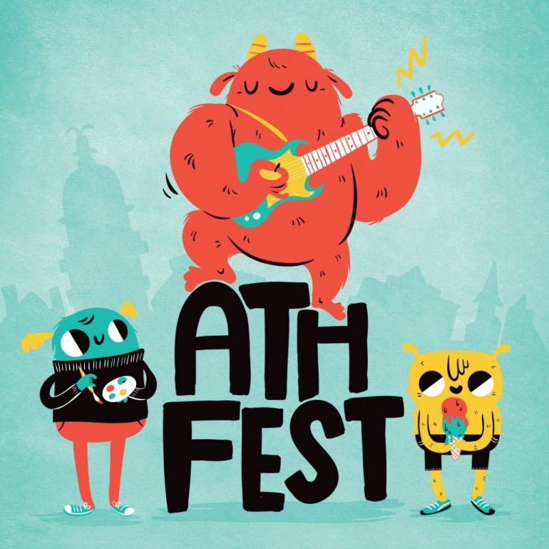 AthFest artwork, by Lauren Gregg