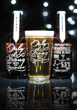 Hardwired Beer – Only The Strong Survive