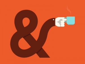 Ampersand & Coffee by Jesus