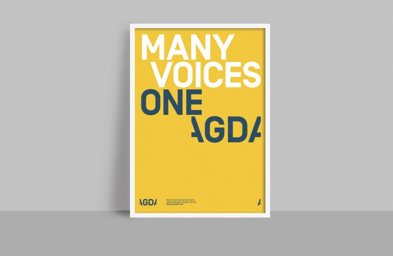 Brand New: New Logo and Identity for AGDA by Interbrand