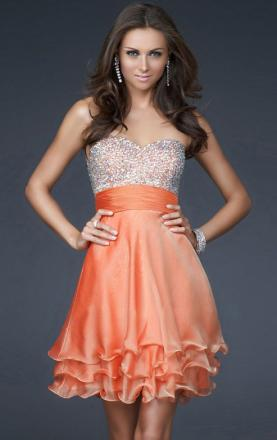 2013 Chiffon A-line Strapless Sweetheart Prom Dress Online(LFNAF0061)|KissyDress UK