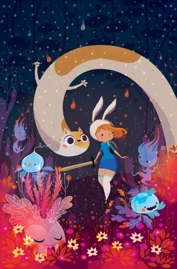 Fionna and Cake – Cover on Behance