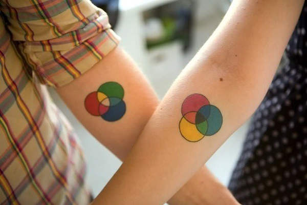 Lovely Matching Tattoo