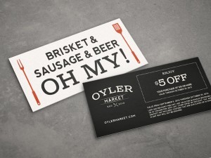 Oyler Market Barbecue & Brewery on Branding Served