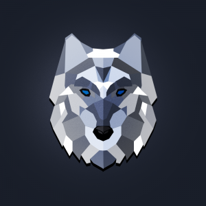 a lonely wolf
