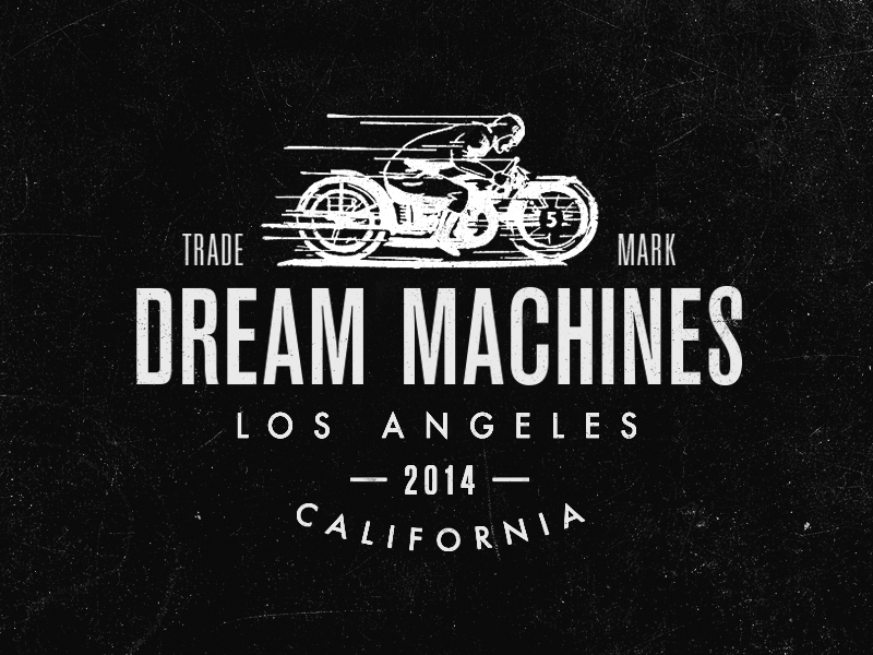Dream Machines Logo by Steve Wolf