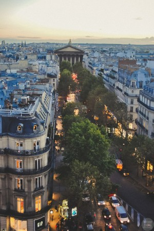 Dusk, Paris, France | The Best Travel Photos