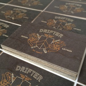 FPO: Drifter Media Business Cards