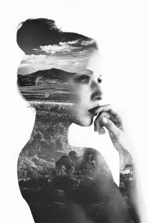 I love these double exposures! | Fine Art | Pinterest