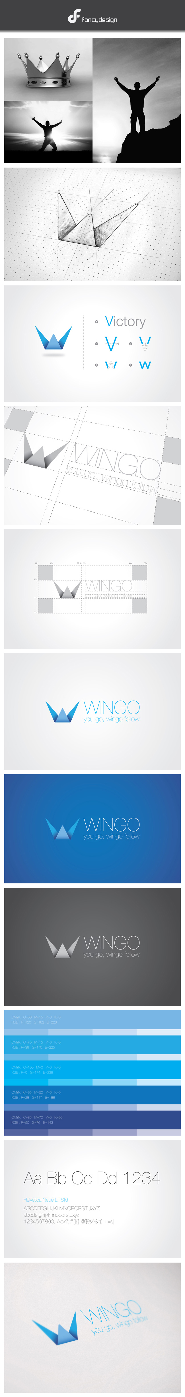 Wingo is a small shop in Ho Chi Minh city. Wingo provides fashion products. Logo wingo was desig ...
