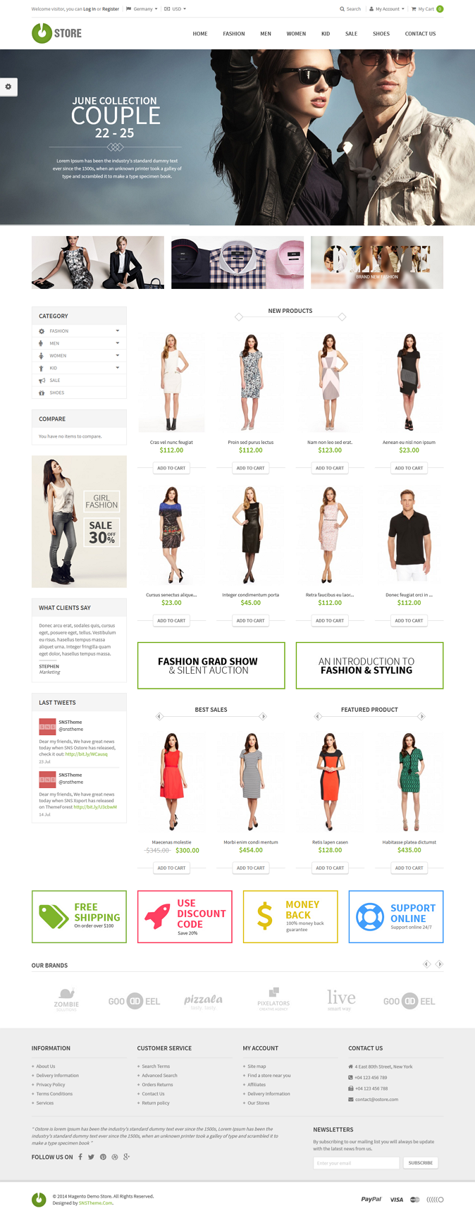SNS Ostore is an super special theme, It's base on Flat Long Shadow designs to represented more ...