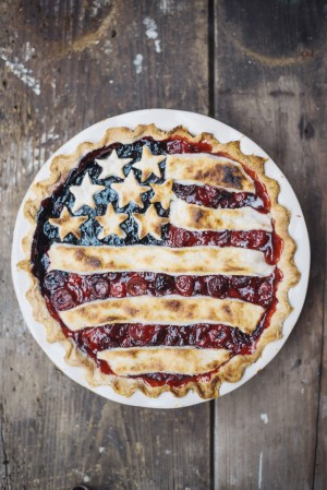 The Wiegands: ALL-AMERICAN PIE WITH LEMON BUTTER CRUST