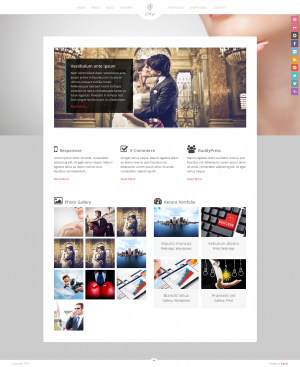 Gittys is a Wedding Event HTML Theme. It's super simple. It has a responsive design meaning your ...