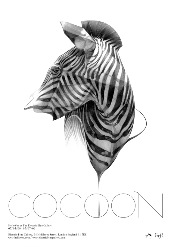 COCOON – Hellovon at Electric Blue Gallery