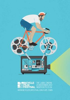 Bicycle Film Festival Poster 2012