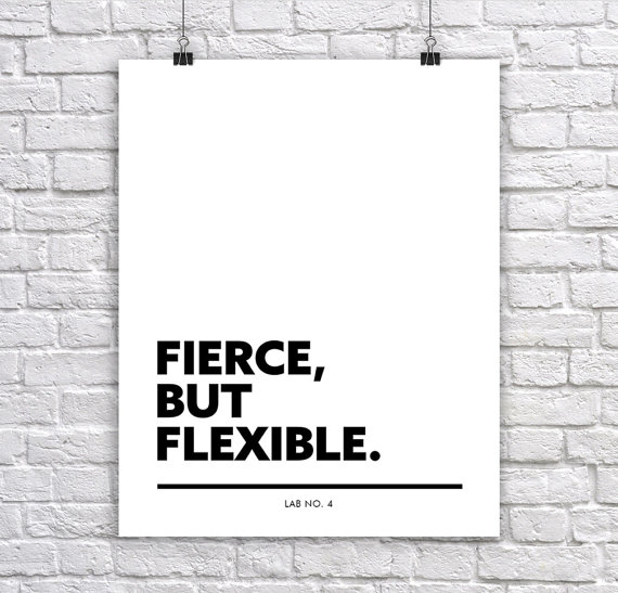 Fierce but Flexible A Corporate Short Quote by Lab No. 4