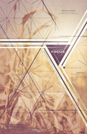 Focus Poster Design. A nice combination of photography/tone and geometric shape. Rob Loukotka of ...