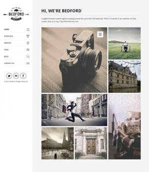Bedford is a responsive and retina-ready Drupal website with grid system layout. Mobile Touch op ...