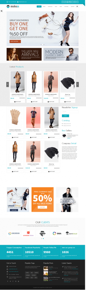 Mukam is an Multipurpose Responsive Drupal Theme. Great deal for any kind of websites!