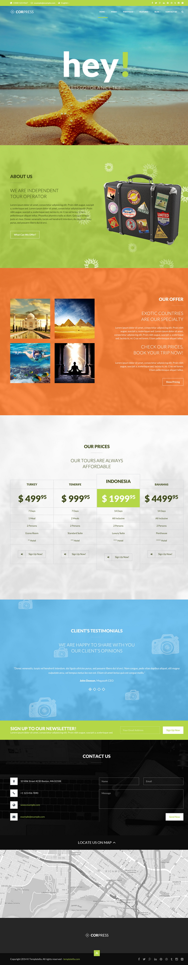 Corpress is an versatile WordPress Theme. It comes up with 12 pre made homepages layouts and $ 4 ...
