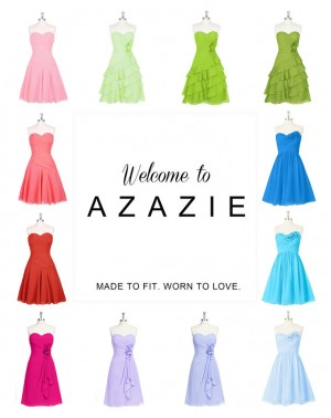 Colorful bridesmaid dresses with four styles make your life better.
