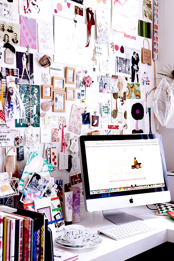 at the office : inspiration boards