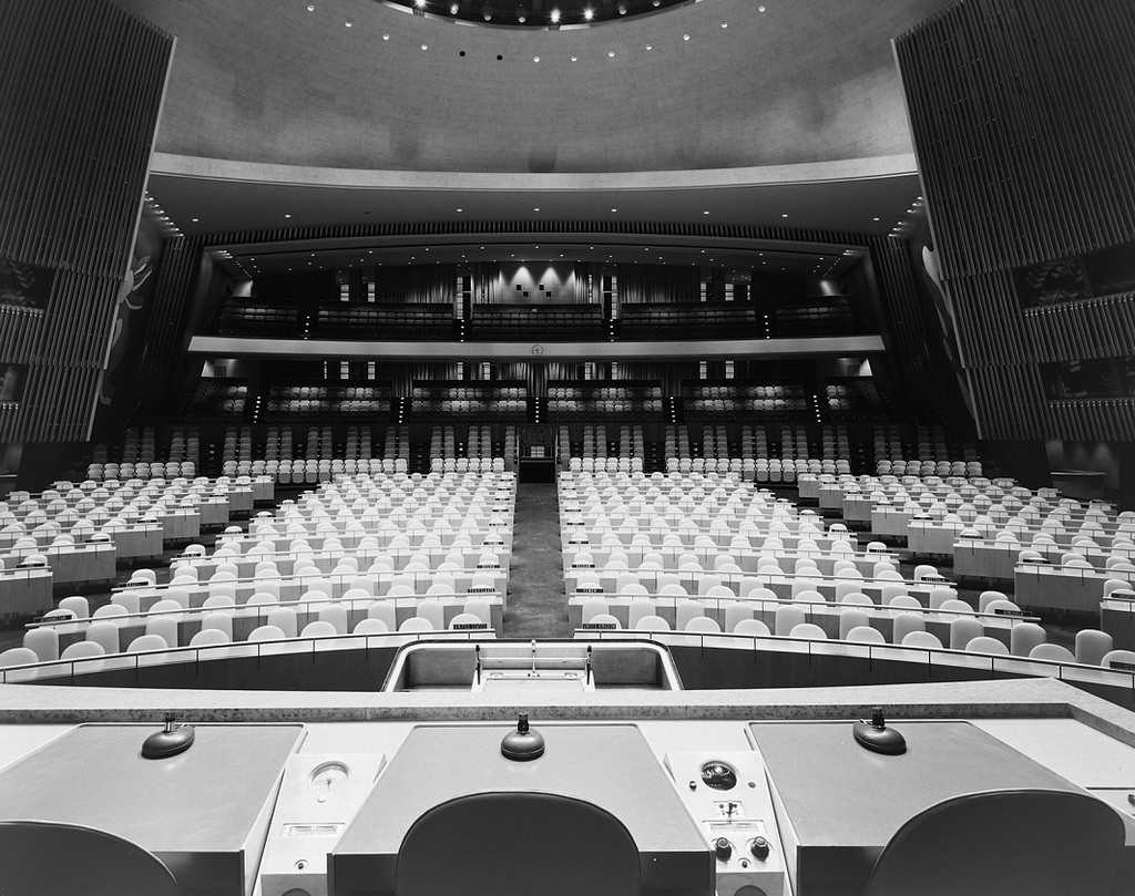 Black and White Photography by Ezra Stoller
