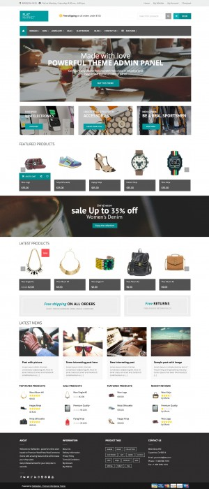 Premium WordPress WooCommerce Theme ->>>