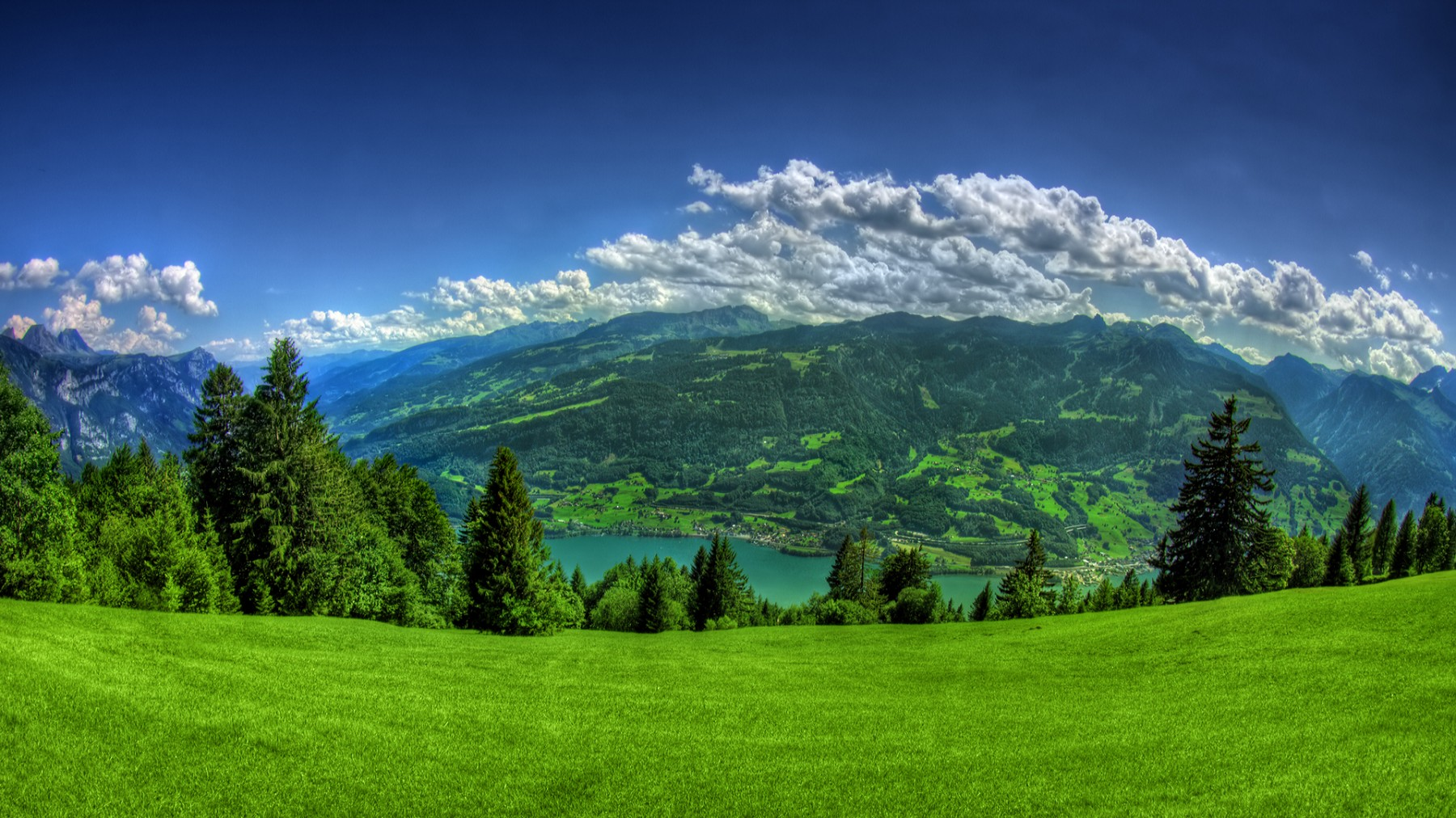 Mountain Lake Landscape – Photography Wallpapers