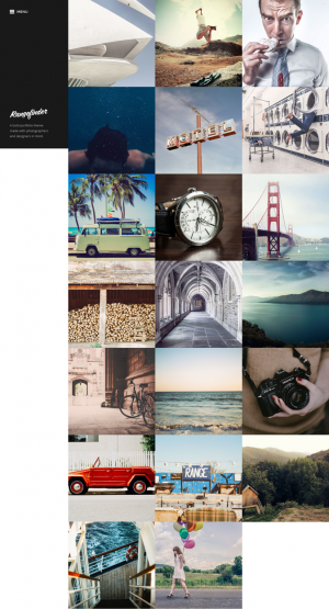 Rangefinder is a slick portfolio theme designed with photographers and designers in mind. The gr ...