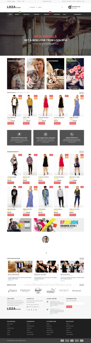The Loza Store is a Multipurpose Responsive Magento Theme. If you want to have a very unique and ...