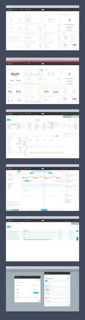 Nutanix Design iterations by Jeremy Sallée ✦✦✦