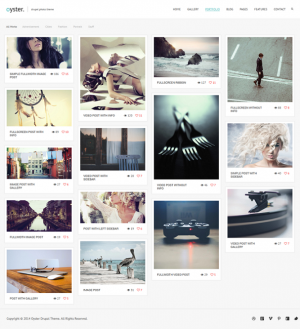 Reinforce your creative ideas with Oyster Creative Photography Drupal Theme.