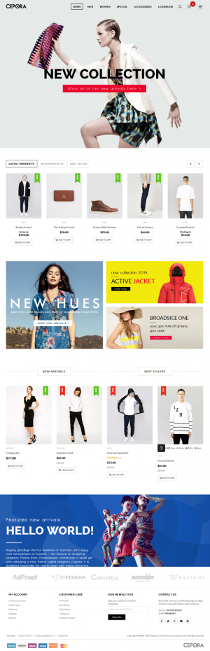 MT Cepora is an new responsive multipurpose Magento Theme. It has many interesting features that ...